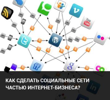Как сделать социальные сети частью интернет-бизнеса?
