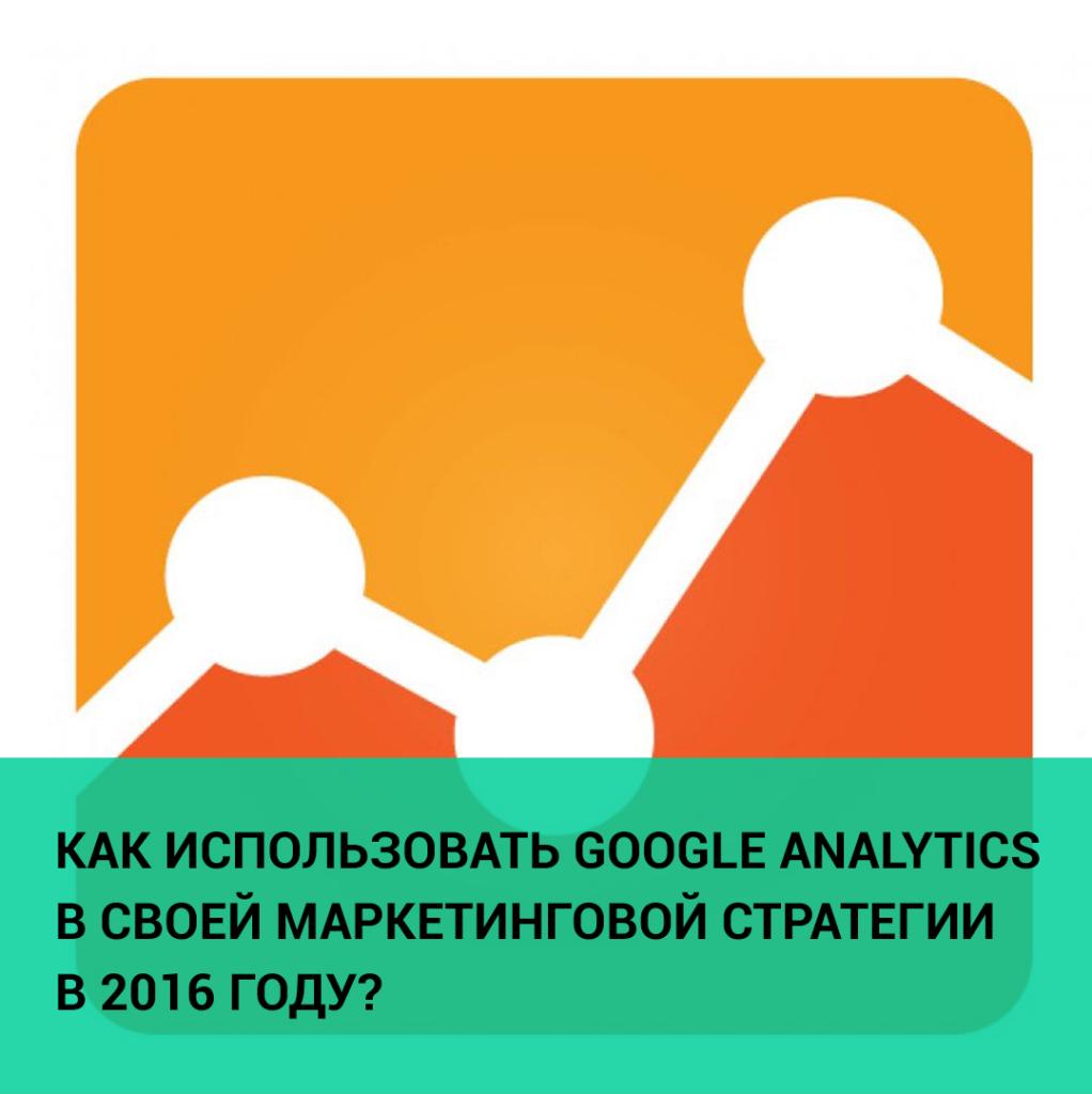 Google Analytics в маркетинговой стратегии