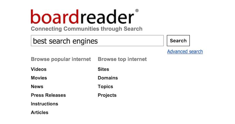Поисковые системы интернета