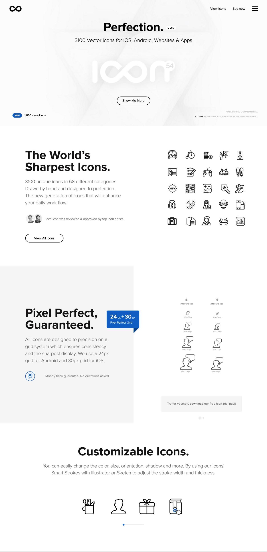 Черно-белый тренд в веб-дизайне