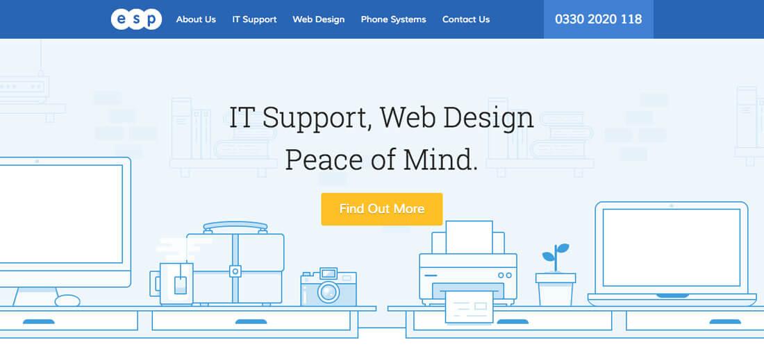 Дизайн кнопки сайта