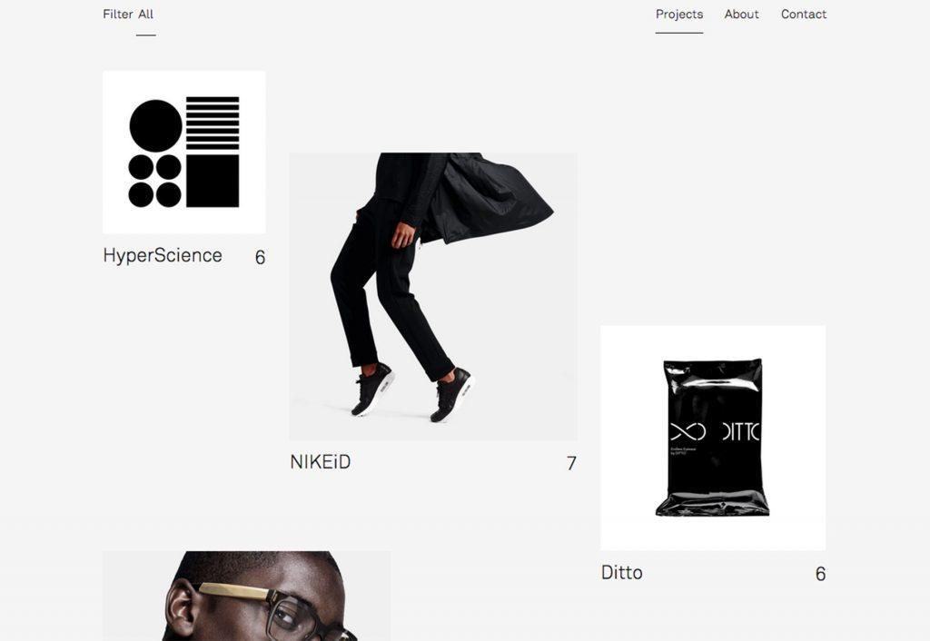 стиль 80-х в веб-дизайне