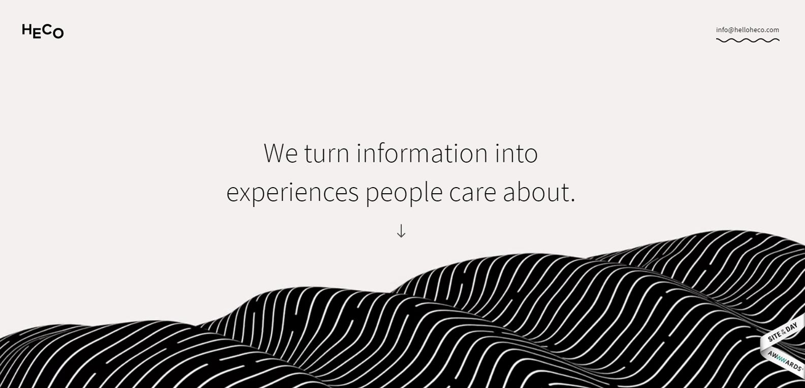13 примеров интересного веб-дизайна