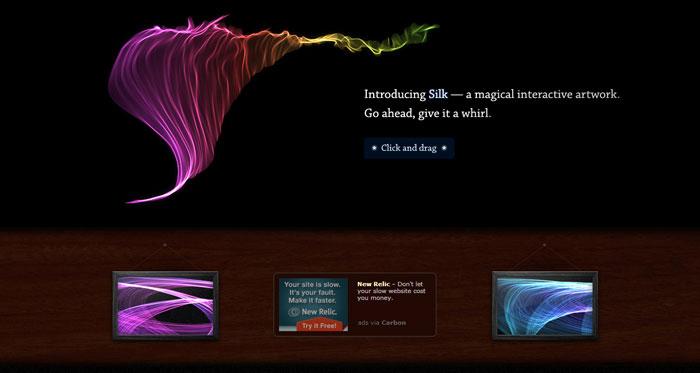 Подборка интересных примеров первых экранов