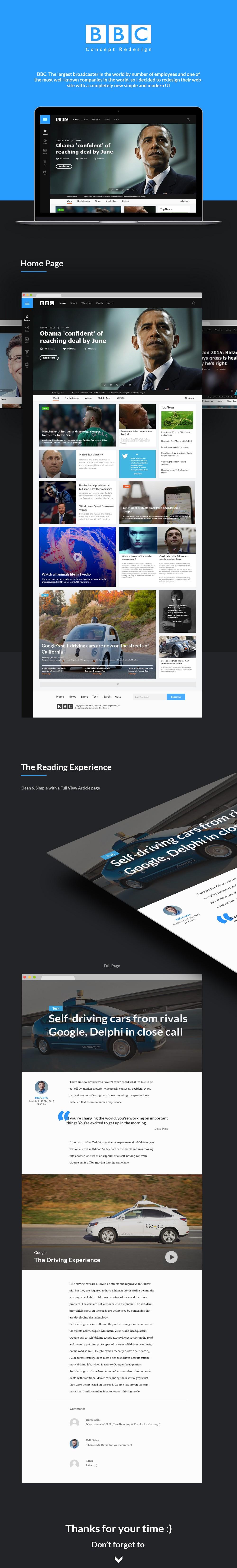 Популярные сайты переосмысленные дизайнерами Behance