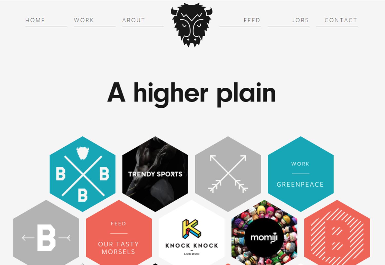 23 современных дизайна с геометрическими элементами