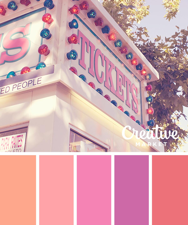 15 пастельных цветовых палитр