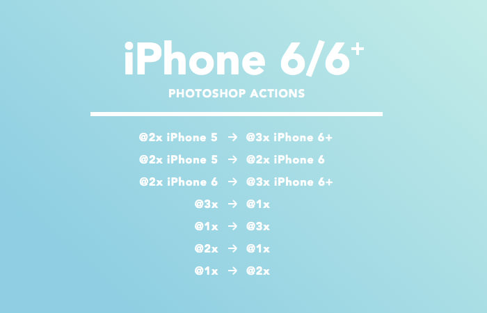 iPhone 6/6+ Actions
