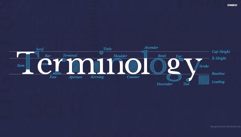 20 великолепных примера типографики в веб-дизайне