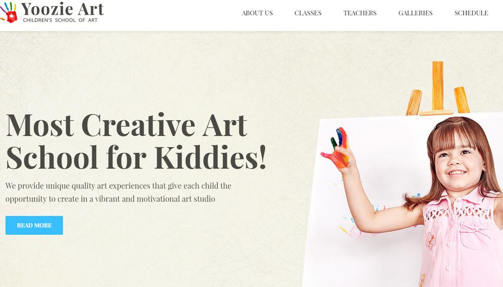 19 креативных тем WordPress