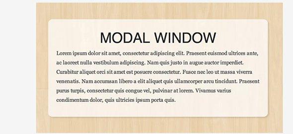 20 креативных дизайнов модальных окон