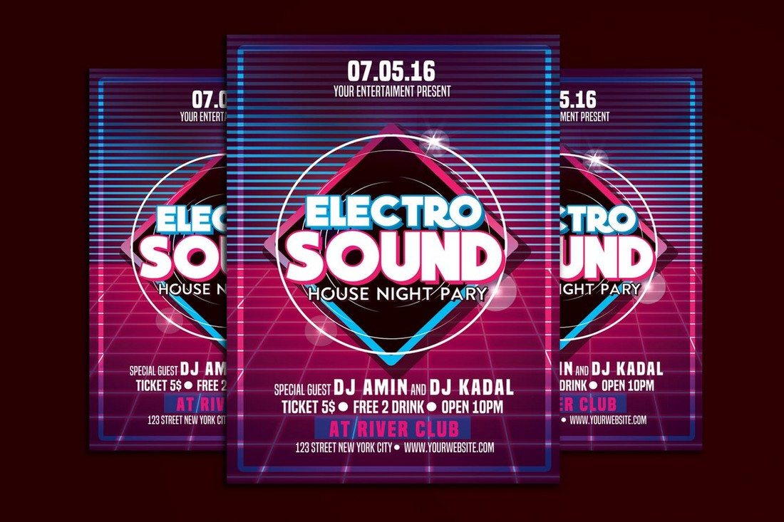 Electro Sound Music Party