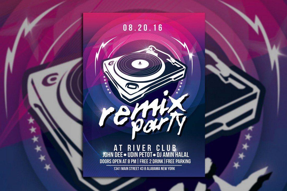 Remix Music Party
