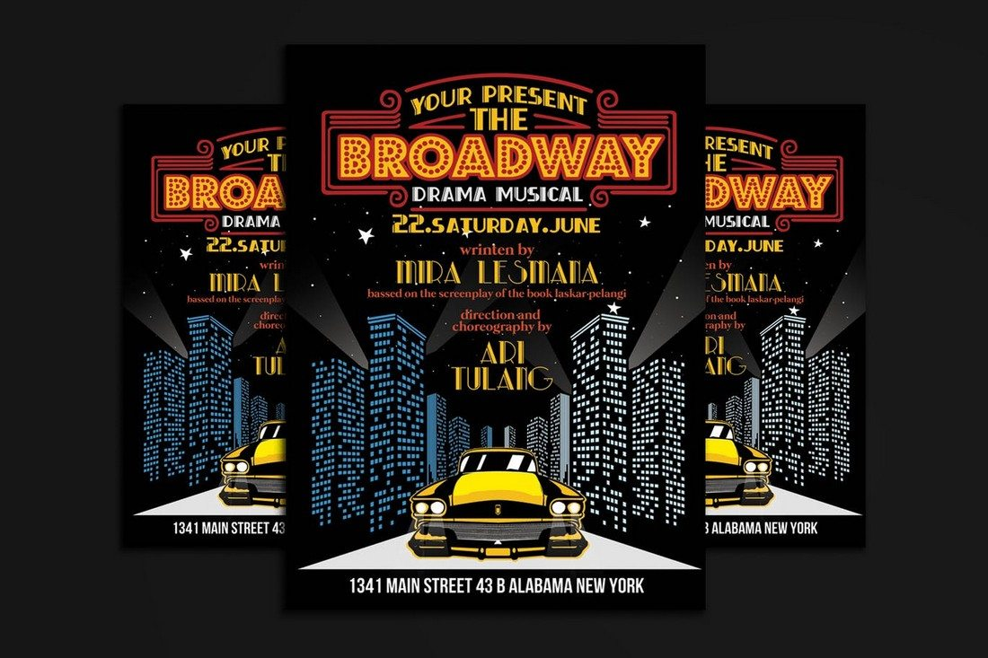 Broadway Drama Musical Show