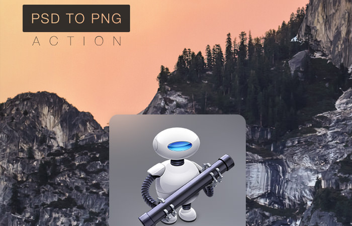 PSD TO PNG Automator