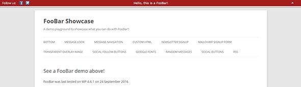 18 плагинов панели уведомлений WordPress
