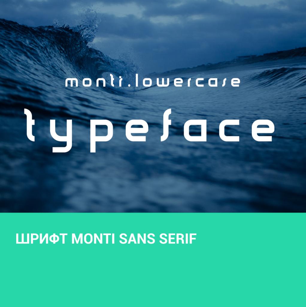Шрифт Monti Sans Serif
