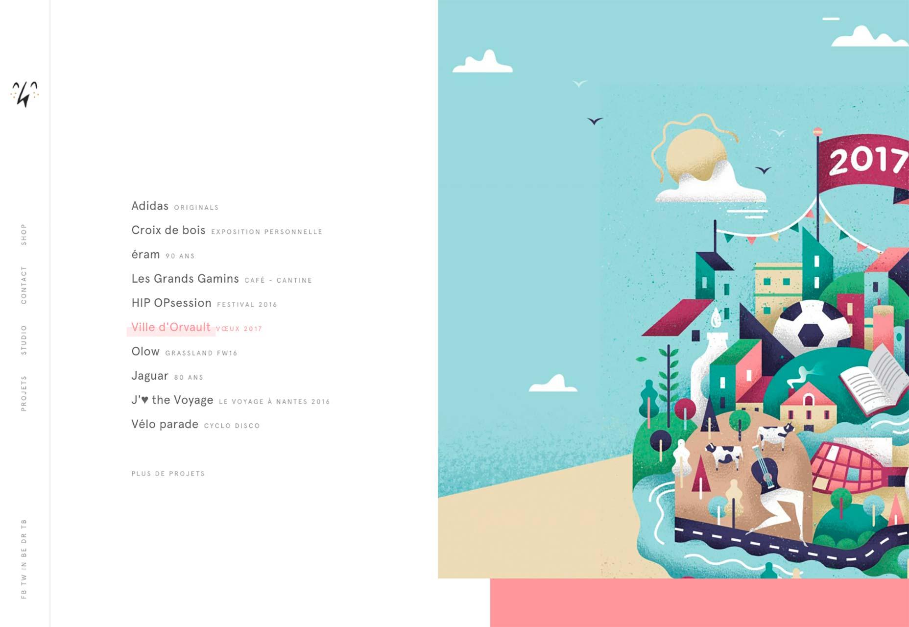 19 великолепных сайтов-портфолио, июль 2017