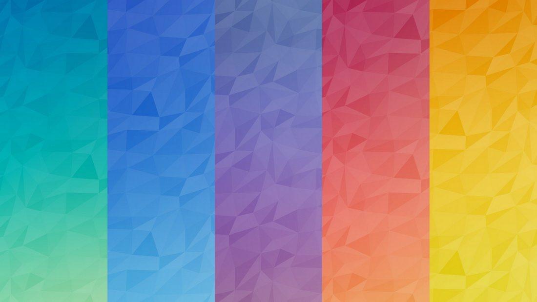 Подборка стильных геометрических бекграундов