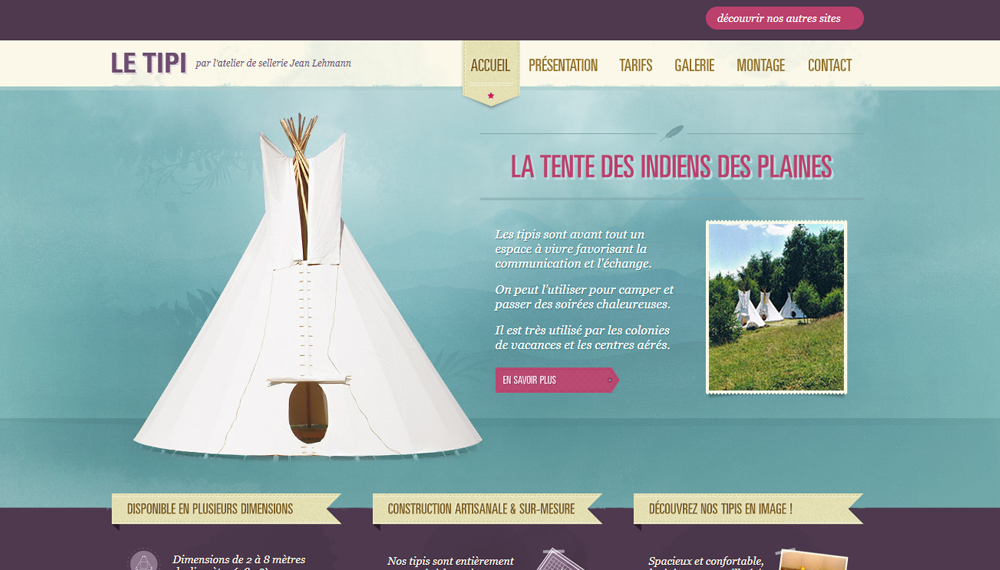21 вдохновляющий пример ретро-стиля в веб-дизайне