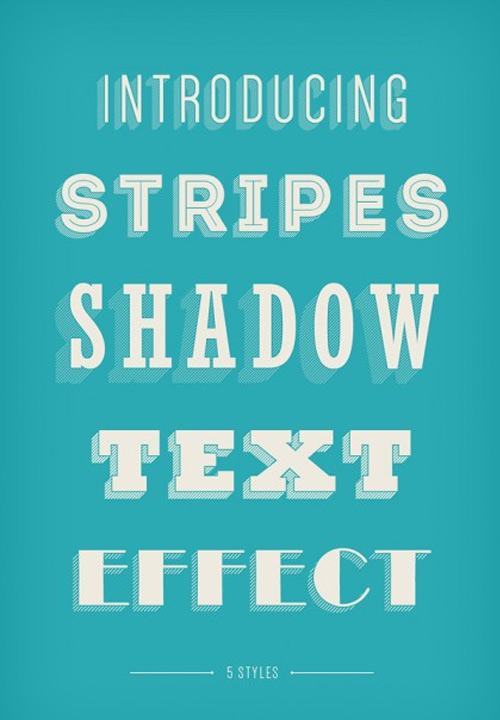 25 бесплатных креативных текстовых эффектов