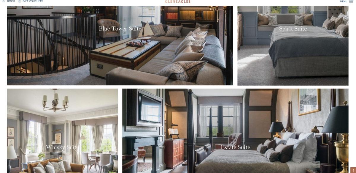 дизайн сайта гостиницы