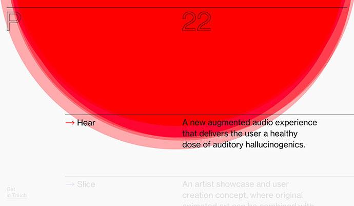 25 красивых типографических портфолио
