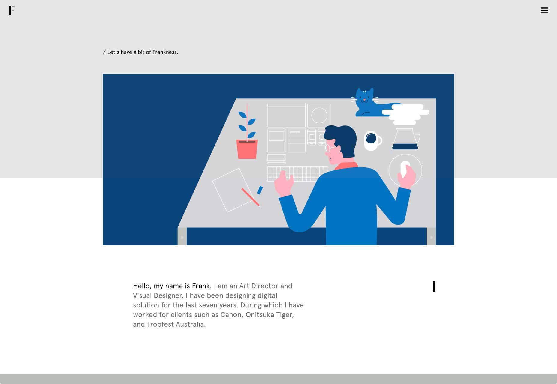 Подборка интересных сайтов-портфолио, август 2017