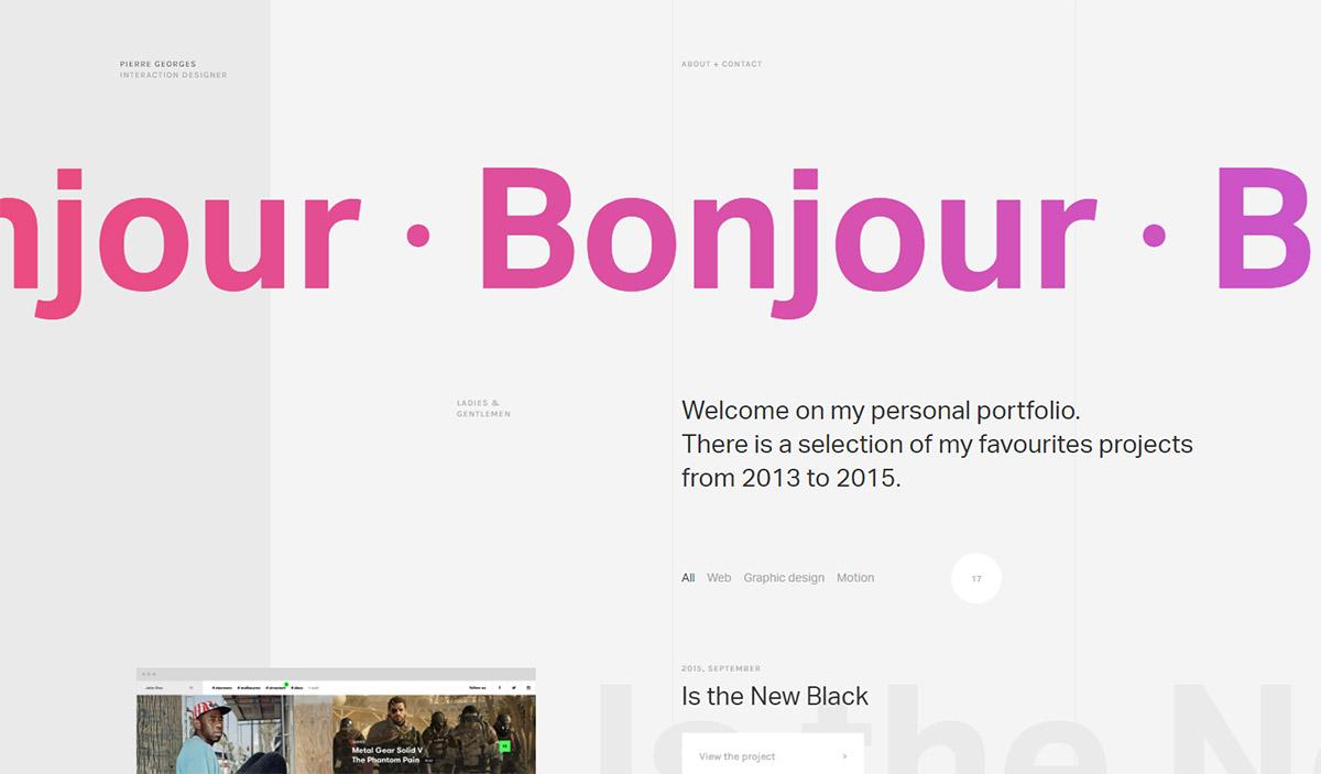 Градиенты в веб-дизайне: тренды, примеры, ресурсы