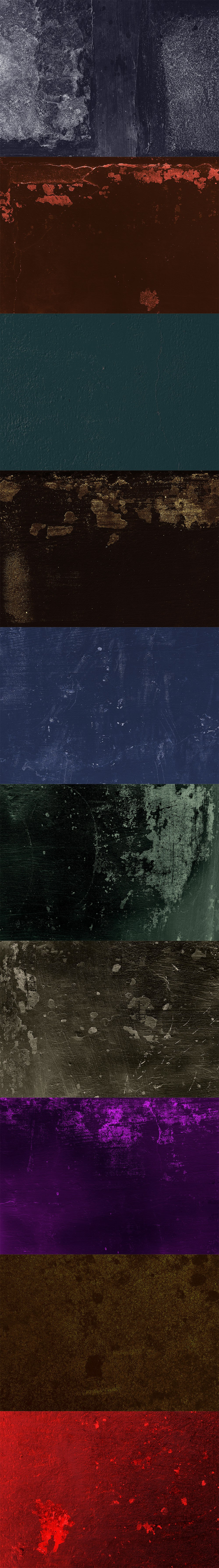 Яркие гранж-текстуры