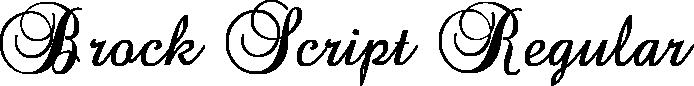 Brock Script