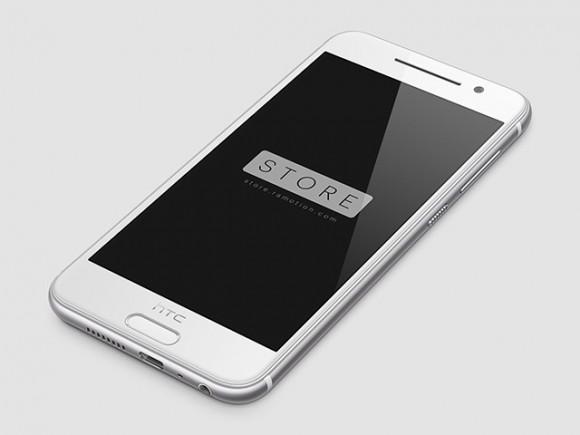 PSD мокап HTC One A9