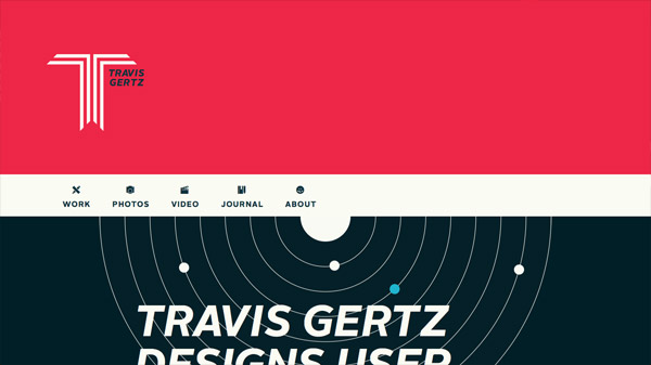 20 дизайнов с плоскими цветными бекграундами
