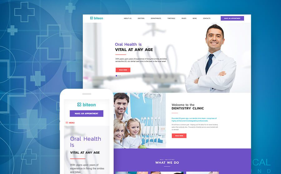 15 медицинских тем WordPress