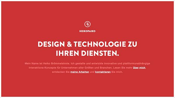 24 радикально красных дизайна