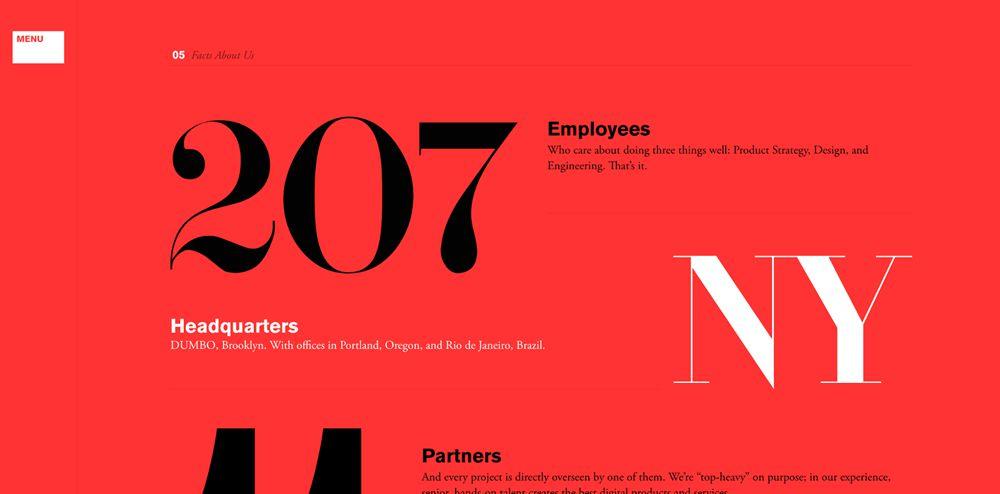 10 вдохновляющих примеров «тяжелой» типографики