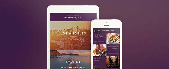 Подборка креативных дизайнов приложений iPad