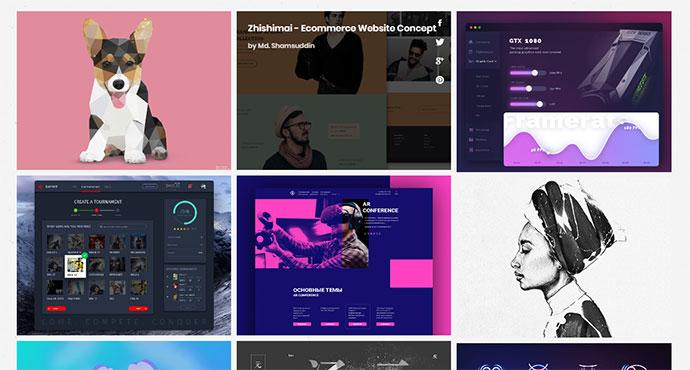 20 дизайнов с использованием CSS сетки