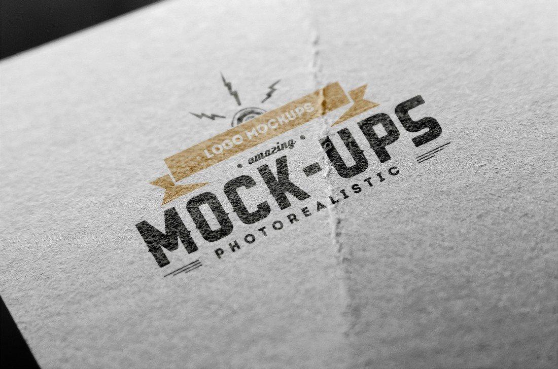 100+ мокап-шаблонов логотипов