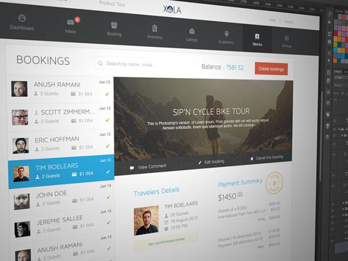 15 вдохновляющих UI-дизайнов систем бронирования и оплаты