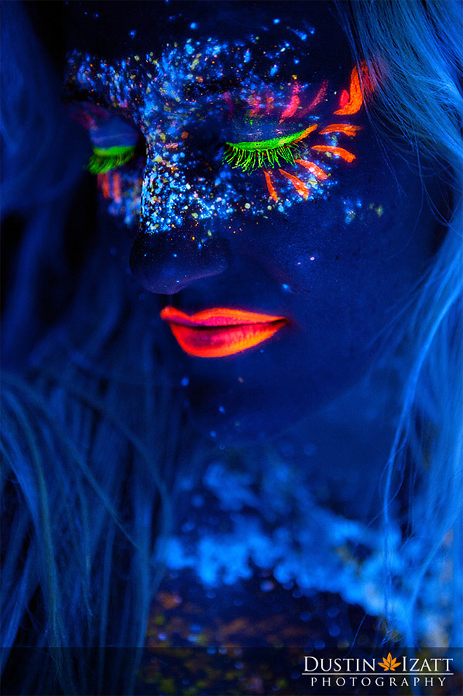 17 ярких, неоновых фотографий