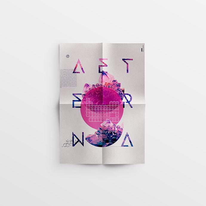 20 потрясающих минималистических дизайна постеров