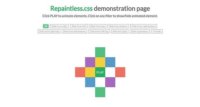 21 CSS и Javascript библиотека анимации 2018