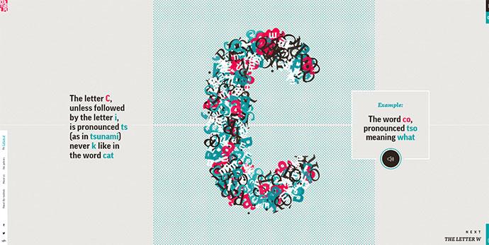 17 потрясающих примеров анимированной типографики