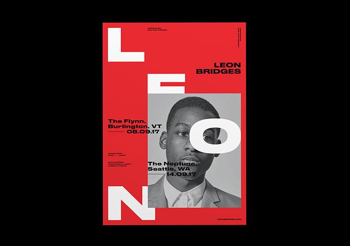 12 вертикально структурированных типографических дизайнов