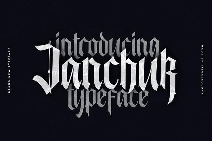 17 классных тату шрифтов