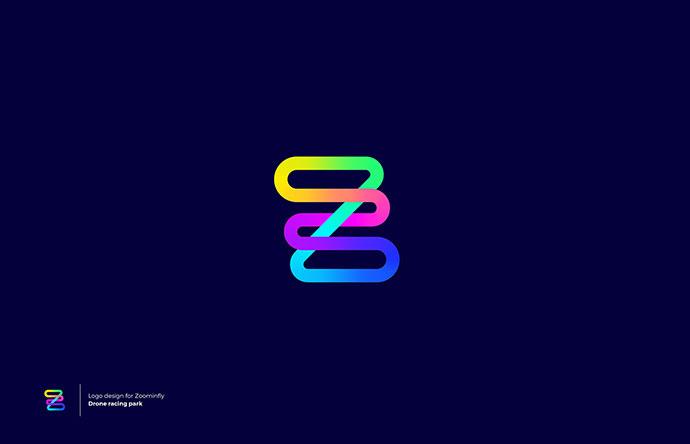 23 классных примера дизайна градиентных 3D логотипов
