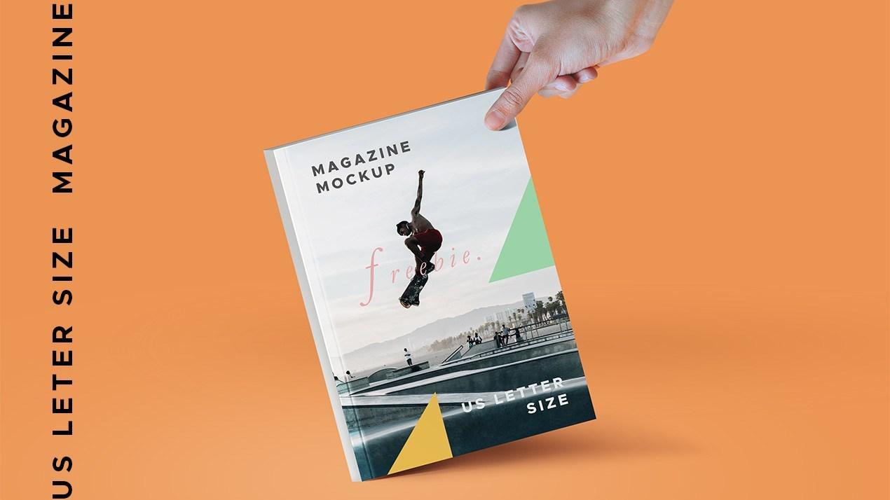 A4 Paper Magazine PSD Mockups