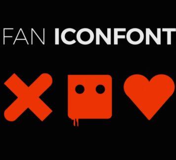 Иконки и шрифты «Love & Death + Robots» (бесплатно, фан-арт)