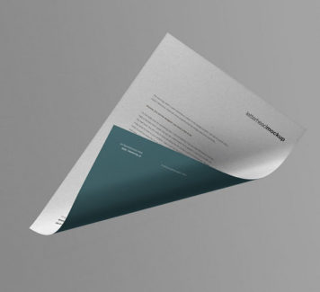Макет бумаги А4